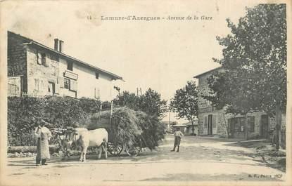 """.CPA  FRANCE 69 """"Lamure d'Azergues, Avenue de la gare"""""""