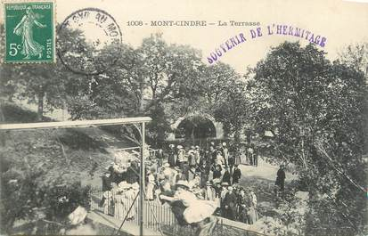".CPA  FRANCE 69 "" Mont Cindre, La terrasse"""