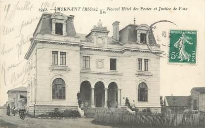""".CPA FRANCE 69 """" Mornant, Nouvel Hôtel des Postes et Justice de Paix"""""""