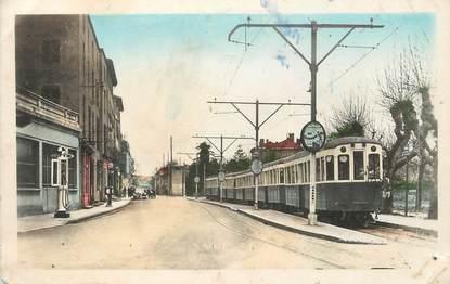 ".CPA FRANCE 69 "" Neuville  sur Saône, Le train bleu"" / TRAIN - GARE -- MICHELINE ?"