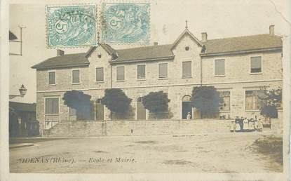 """.CPA FRANCE 69 """" Odenas, Ecole et Mairie"""""""