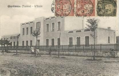 """CPA TUNISIE """"Ghardimaou, l'Ecole"""""""
