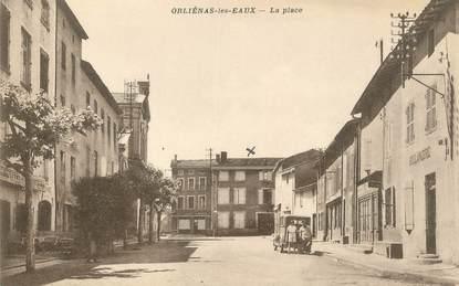 """.CPA FRANCE 69 """" Orliénas les Eaux, La place"""""""
