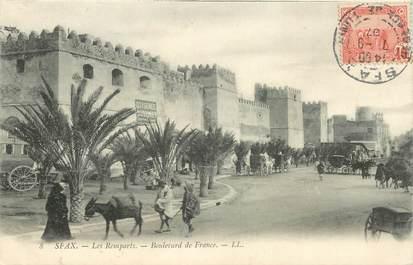 "CPA TUNISIE ""Sfax, boulevard de France"""