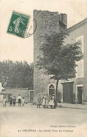 """.CPA FRANCE 69 """" Orliénas, Vieille tour du château"""""""