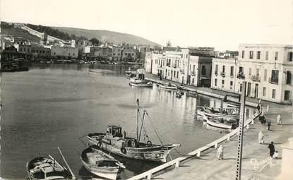 """CPSM TUNISIE   """"Bizerte, un coin du vieux port"""""""