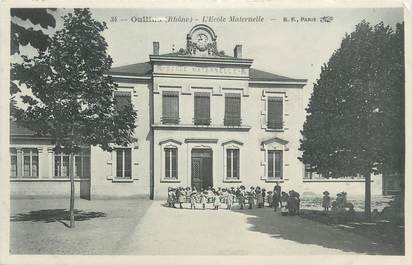 ".CPA FRANCE 69 "" Oullins,  Ecole  maternelle"""