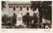 """Tunisie CPSM TUNISIE """"Sousse, monument du sénateur F. Gallini"""""""
