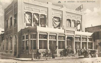 "CPA TUNISIE ""Sousse, le casino municipal"""
