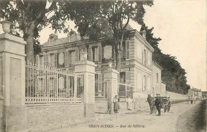 """CPA FRANCE 77  """"Grisy Suisnes, rue de Sillery"""""""
