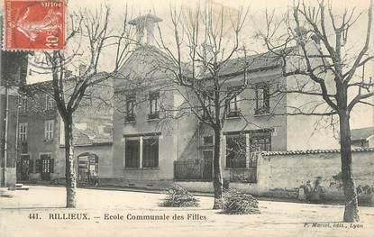 """.CPA  FRANCE 69 """" Rillieux, Ecole communale des filles"""""""