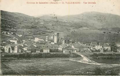 """.CPA   FRANCE 34 """"Vallemagne, environs de Lamalou, Vue générale"""""""