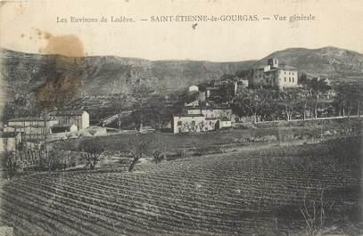 """.CPA   FRANCE 34  """"St Etienne de Gourgas, Vue générale"""""""
