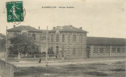 """.CPA   FRANCE 34  """"Marseillan, Groupe scolaire"""""""