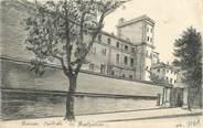 "34 Herault .CPA  FRANCE 34 "" Montpellier, Maison centrale"" / CARTE PEINTE"