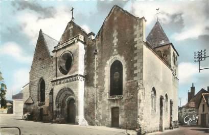 """.CPSM  FRANCE 37 """"St Martin le Beau, L'église"""""""