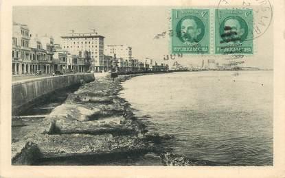 "CPA CUBA ""Habana, Marco avenue"""