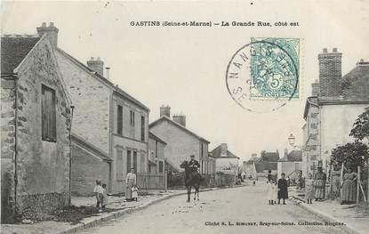 """CPA FRANCE 77  """"Gastins, la grande rue"""""""
