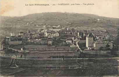 """.CPA  FRANCE 46 """"St Médard, Vue générale"""""""