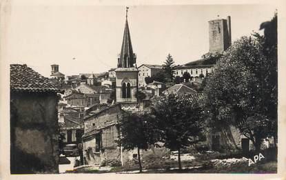 """.CPSM FRANCE 46 """"Montcuq, Perspective du centre"""""""