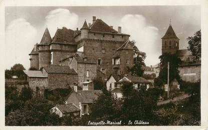 """.CPSM FRANCE 46 """"Lacapelle Marival, Le château"""""""