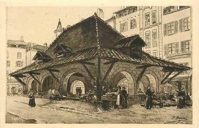 """.CPA FRANCE 46 """"Figéac, Ancienne loge de la Place Basse"""""""
