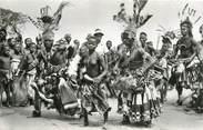 """Afrique CPSM CONGO BELGE """"Mweka, danses chez les Bakubas"""""""