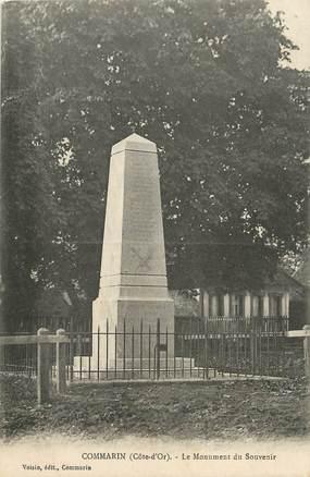 ".CPA  FRANCE 21 ""Commarin, Le monument aux morts"""