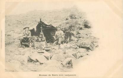 """CPA AFRIQUE DU SUD """"Bivouac de Boers sous Ladysmith"""""""