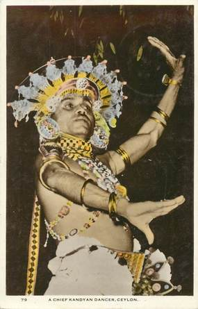 "CPSM   SRI LANKA  "" Danseur chef"""