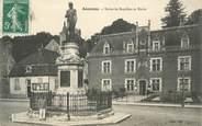 """21 Cote D'or .CPA  FRANCE 21 """"Auxonne, Statue de Napoléon et Mairie"""""""