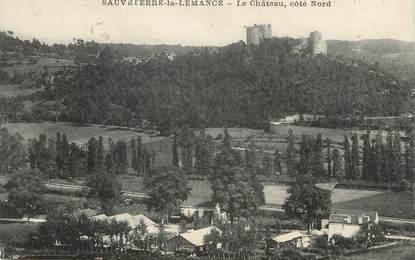 """.CPA  FRANCE  47 """"Sauveterre la Lémance, Le château"""""""