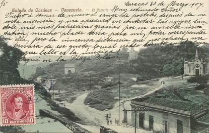 "CPA  VENEZUELA  ""Caracas """