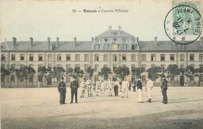 """CPA FRANCE 76 """"Rouen , la caserne Pélissier"""""""