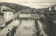 """48 Lozere .CPA  FRANCE 48 """"Marjevols, Place Thiers et monument aux morts"""""""