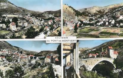 """.CPSM  FRANCE 48 """"Pont de Montvert, Vues"""""""