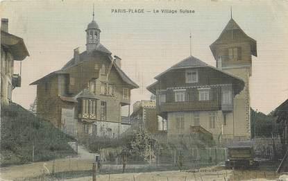 """CPA FRANCE 62 """"Le Touquet, le village Suisse"""""""