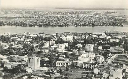"""CPSM  COTE D'IVOIRE """"Abidjan,  vue aérienne"""""""