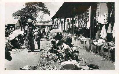 """CPSM  COTE D'IVOIRE """"Abidjan, le marché d'Adjamé"""""""