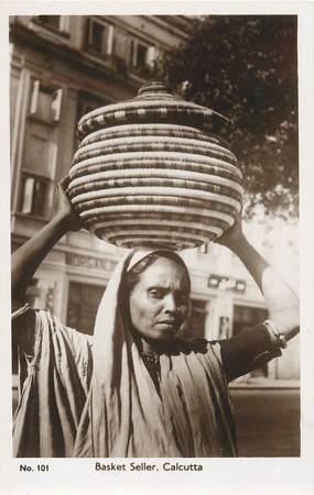 """CPA INDE """"Calcutta, femme"""""""