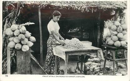 """CPA INDE """"marchande de fruits"""""""