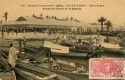 """Afrique CPA SENEGAL """"Saint Louis, bords du fleuve et le marché"""""""