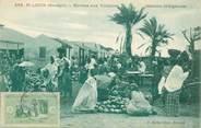 """Afrique CPA SENEGAL """"Saint Louis, le Marché aux Yomboss, melons indigènes"""""""