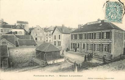 """CPA FRANCE 77  """"Fontaine le Port, Maison Larpenteur"""""""