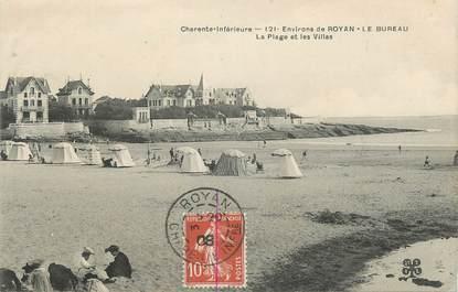 """.CPA FRANCE 17 """"Royan, La plage et les villas"""""""