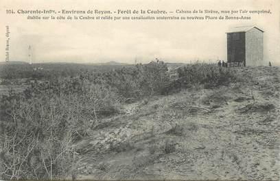 """.CPA FRANCE 17 """"Environs de Royan, Forêt de la Coubre"""" / PHARE"""