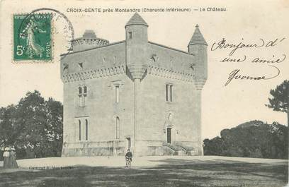 """.CPA  FRANCE 17 """"  Croix Gente près Montendre, Le château"""""""
