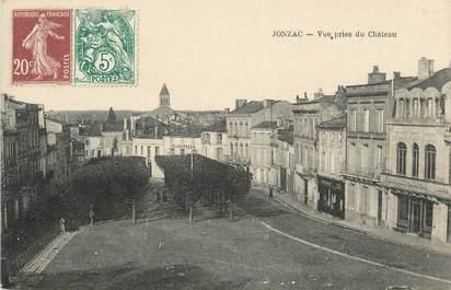 ".CPA  FRANCE 17 "" Jonzac, Vue prise du château"""