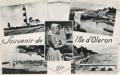 """.CPSM   FRANCE 17 """" Ile d'Oléron, Vues"""""""