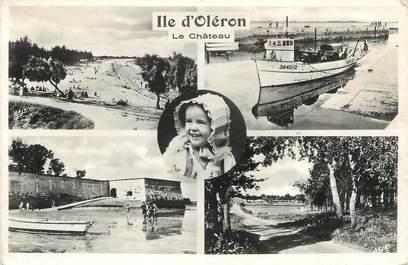 """.CPSM   FRANCE 17 """" Ile d'Oléron Le Château, Vues"""""""